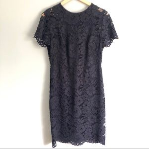 Lauren Ralph Lauren | Navy Lace Sheath Dress